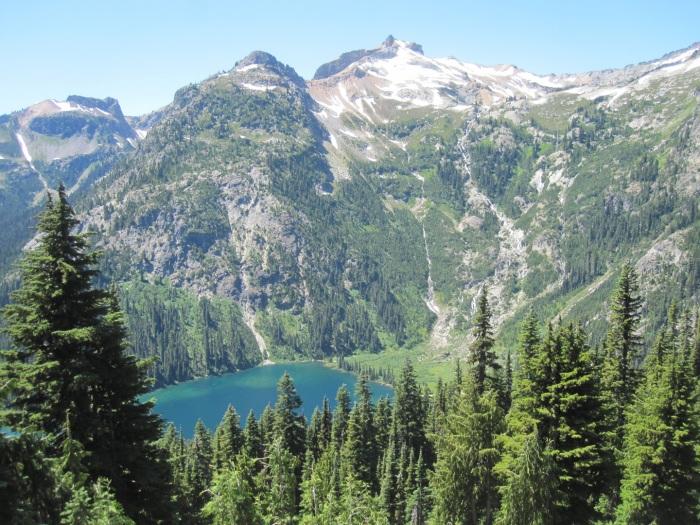 Mt. Daniel and Deep Lake