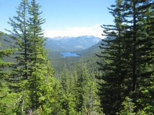 Waptus Lake from the Dutchmiller Gap Trail