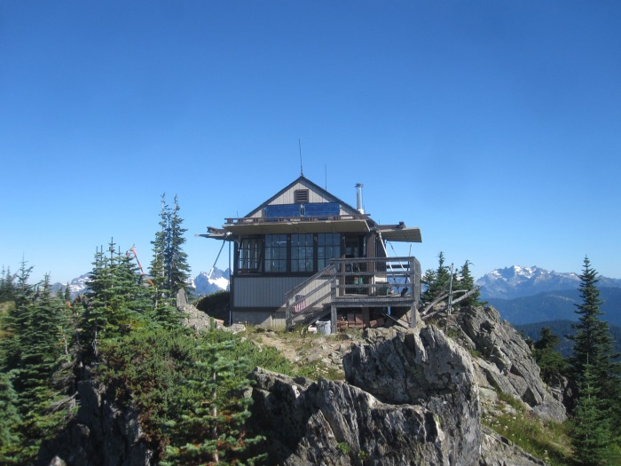 Thorp Mountain lookout